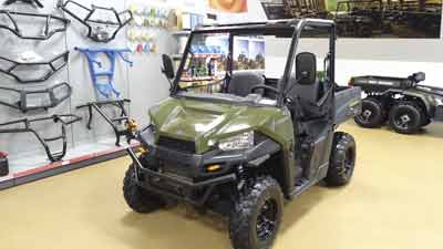 ATV Polaris konstrukcja d