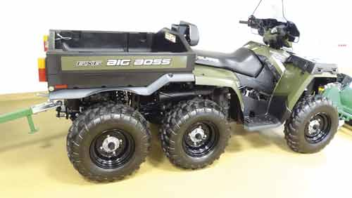 ATV Polaris konstrukcja f