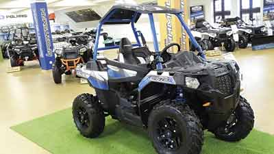 ATV Polaris konstrukcja k